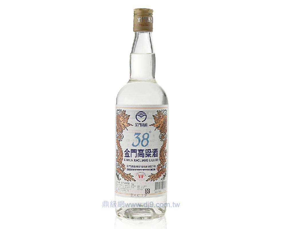 【箱購特價12入】金門38度高粱酒750ml