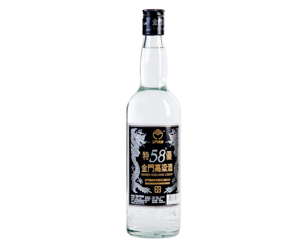 【箱購特價12入】58度特優金門高粱酒