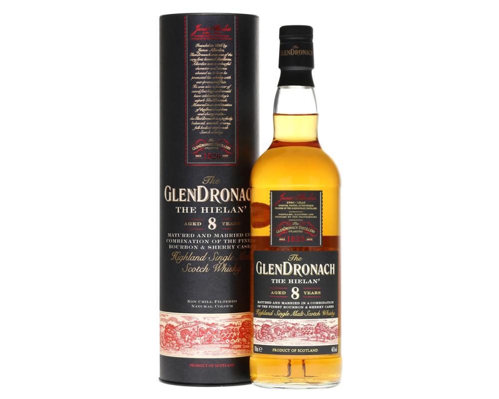 格蘭多納8年The Hielan單一純麥威士忌