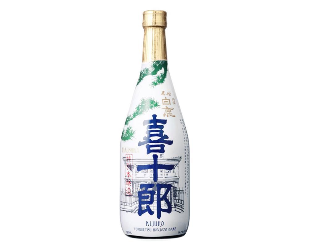 黑松白鹿喜十郎特別本釀造720ml