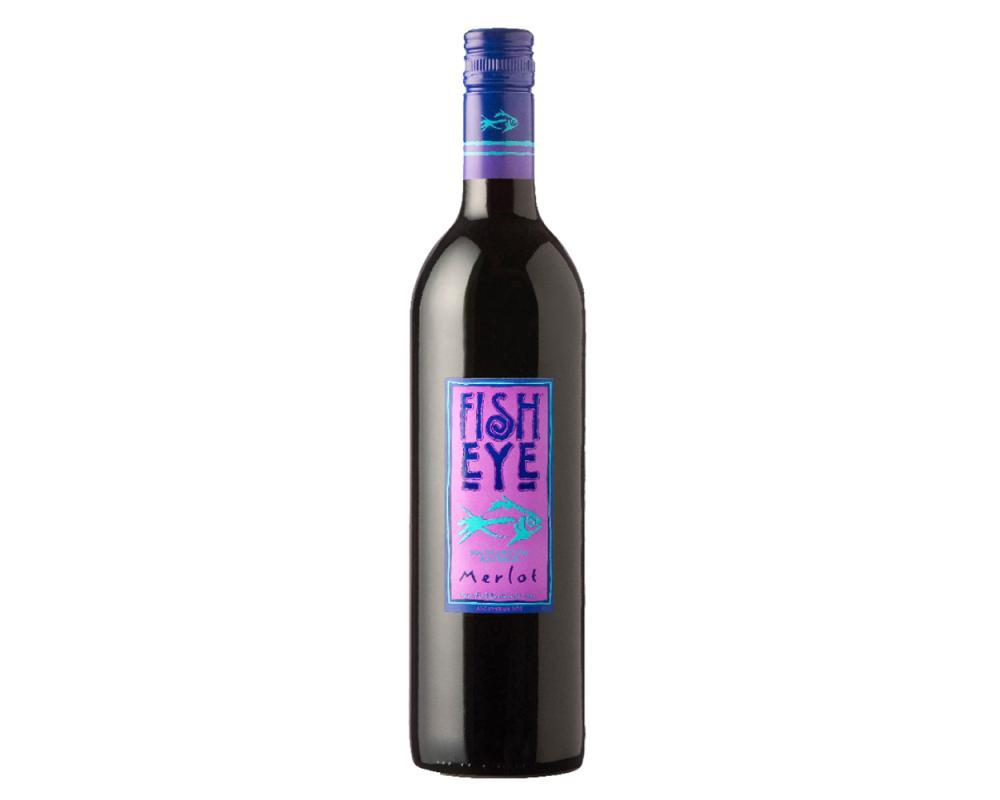 魚眼梅洛紅酒