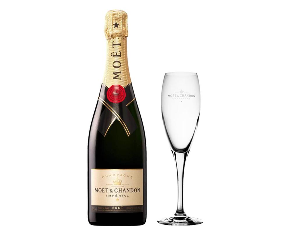 【箱購特價6入】酩悅香檳&香檳杯