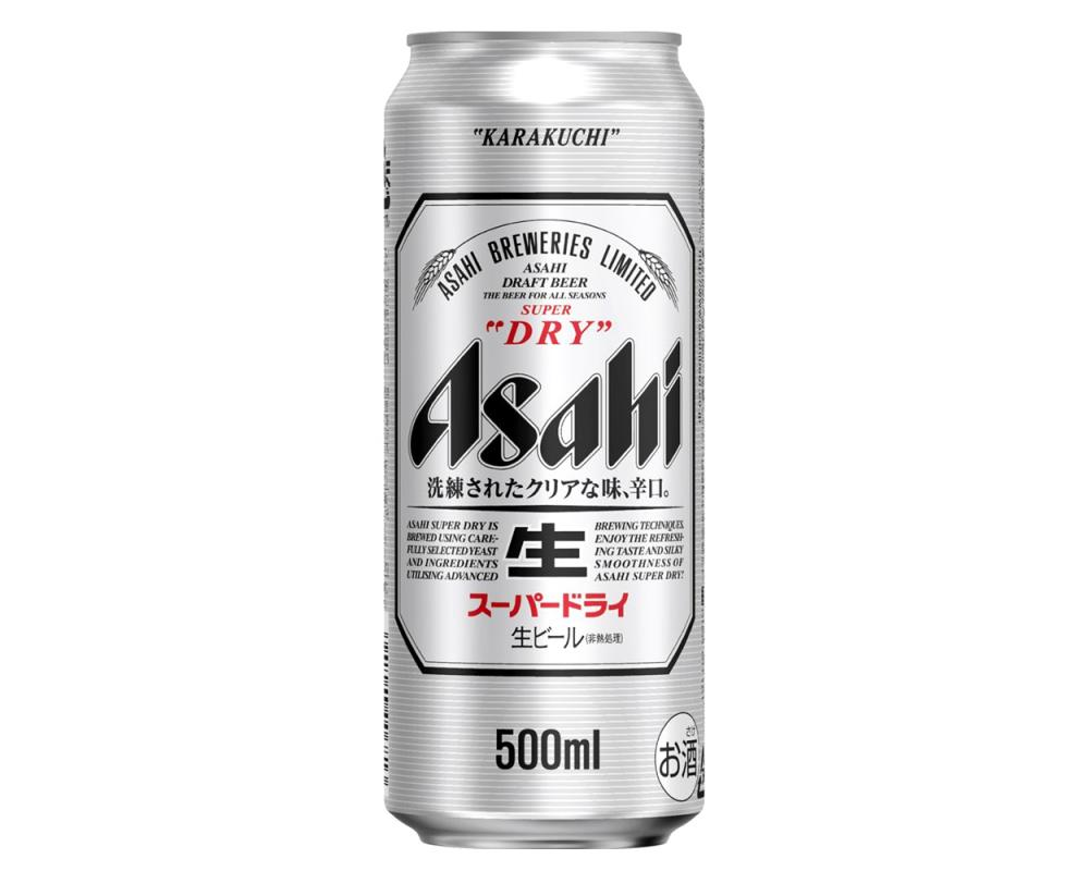 Asahi朝日啤酒(500mlx24罐)