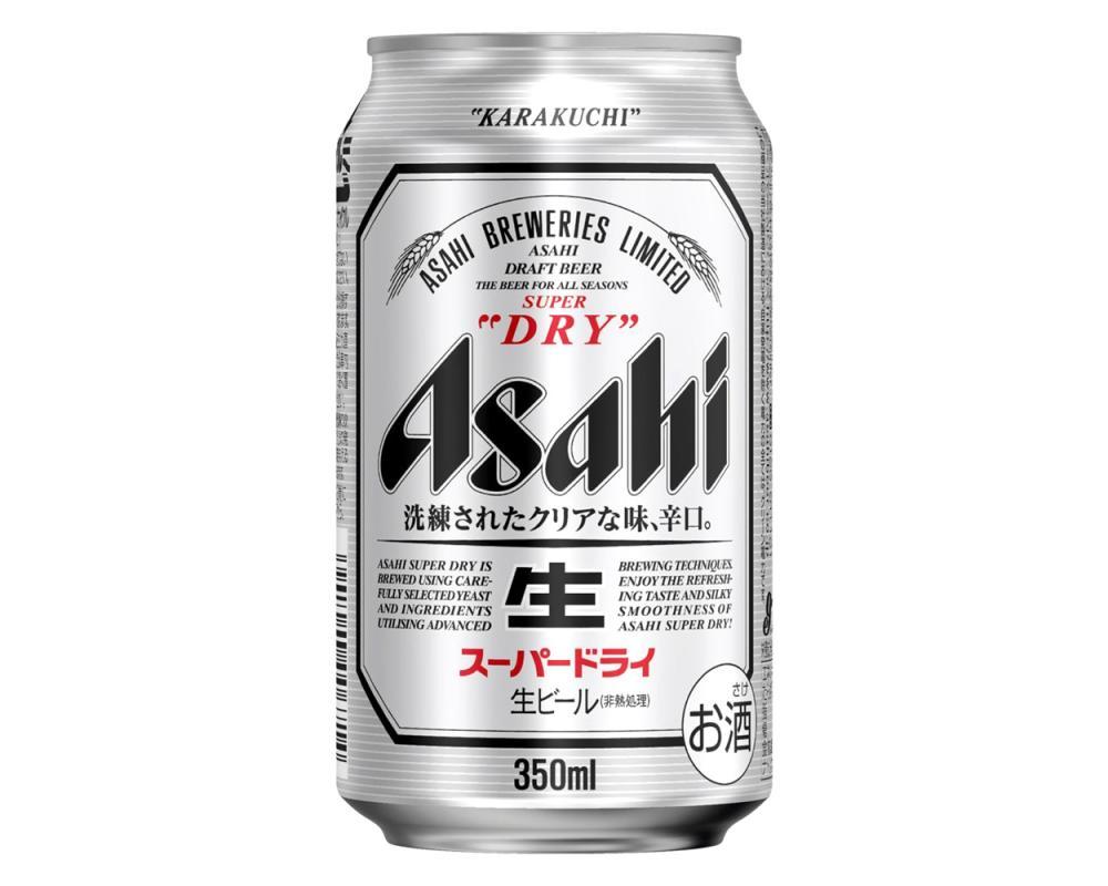 Asahi朝日啤酒(350mlx24罐)