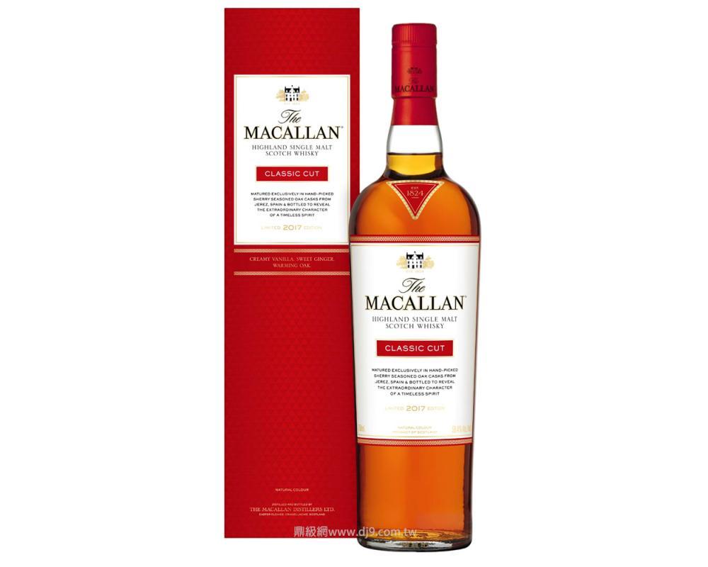 麥卡倫Classic Cut單一麥芽威士忌