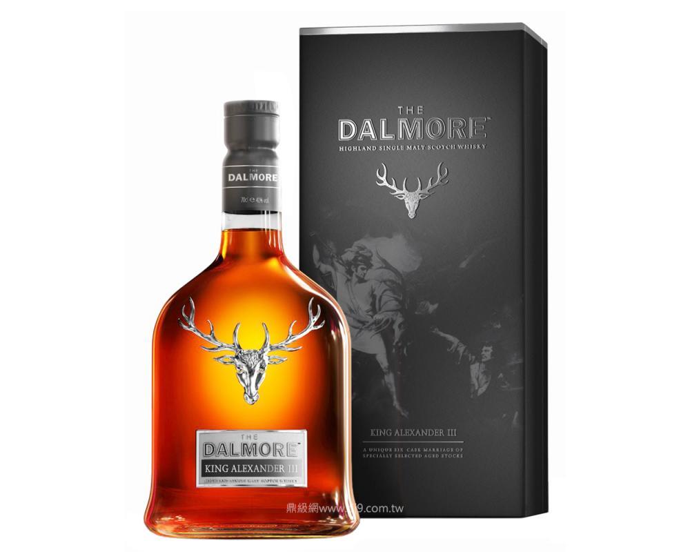 大摩 亞歷山大三世紀念威士忌