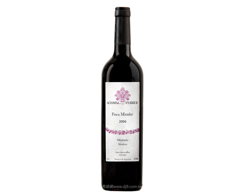 菲麗酒莊米哈多頂級紅酒2006