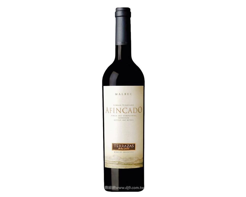 台階頂級馬爾貝紅酒2006