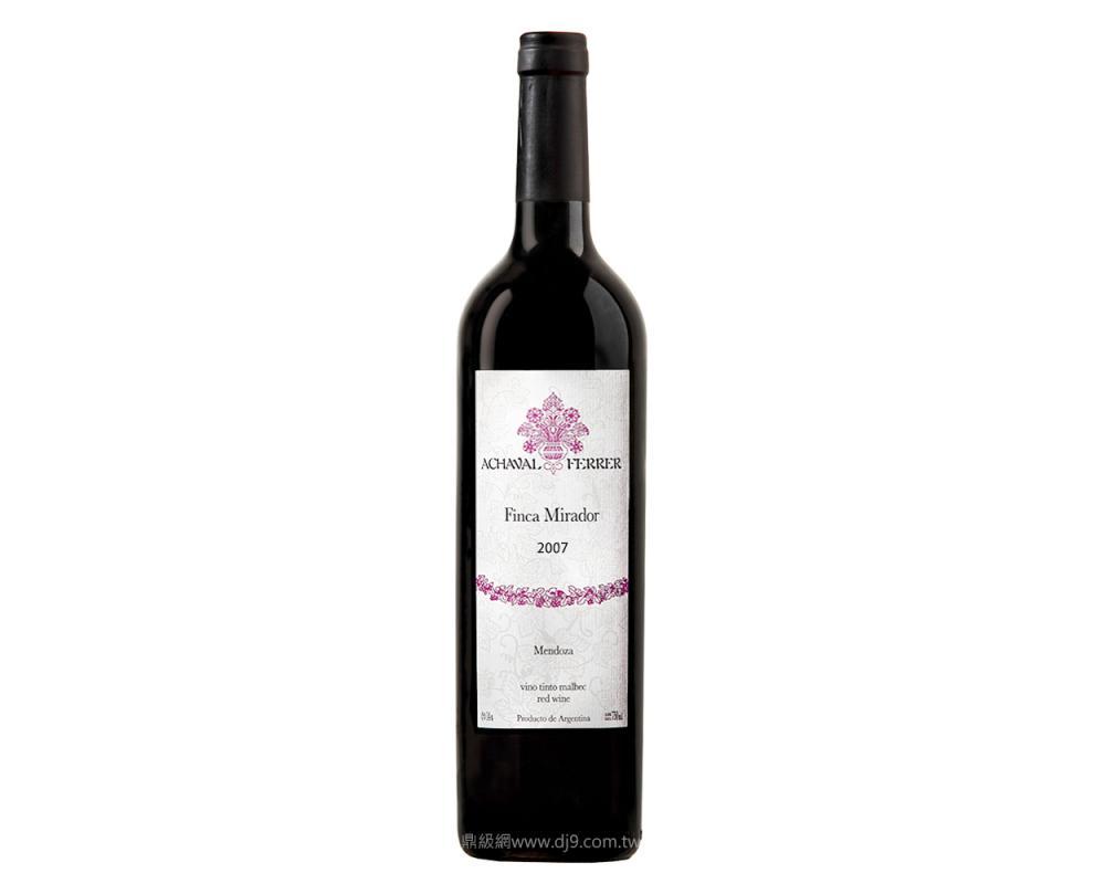 菲麗酒莊阿塔米洛頂級紅酒2007