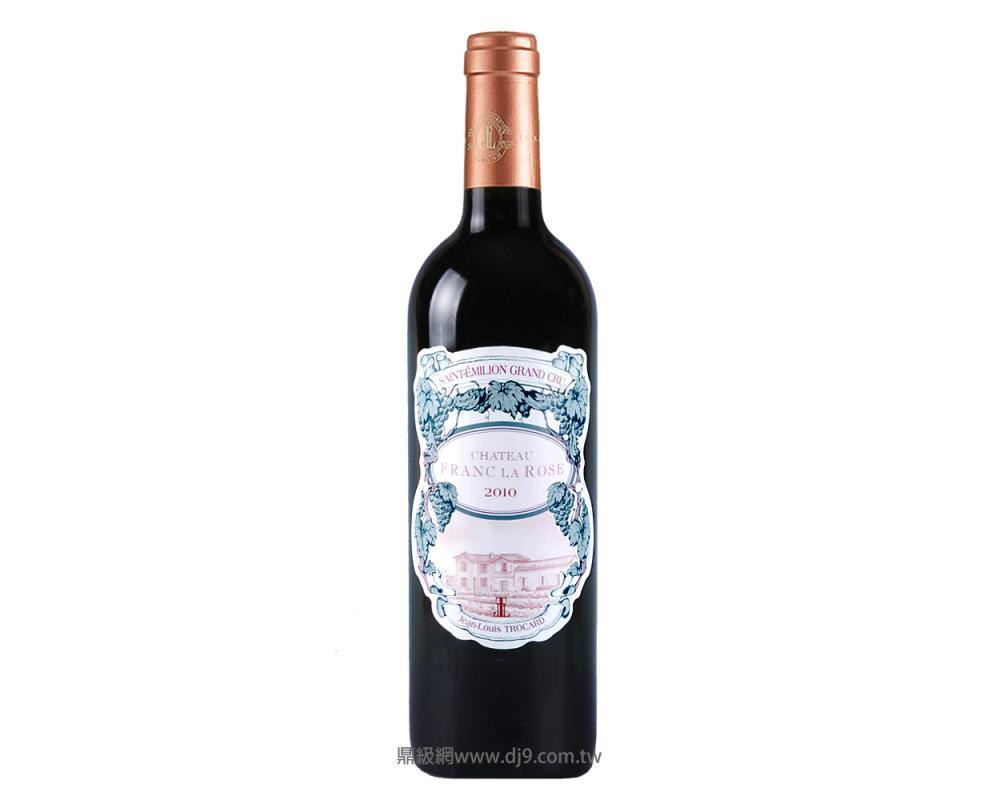 玫瑰古堡波爾多醇釀紅酒2010