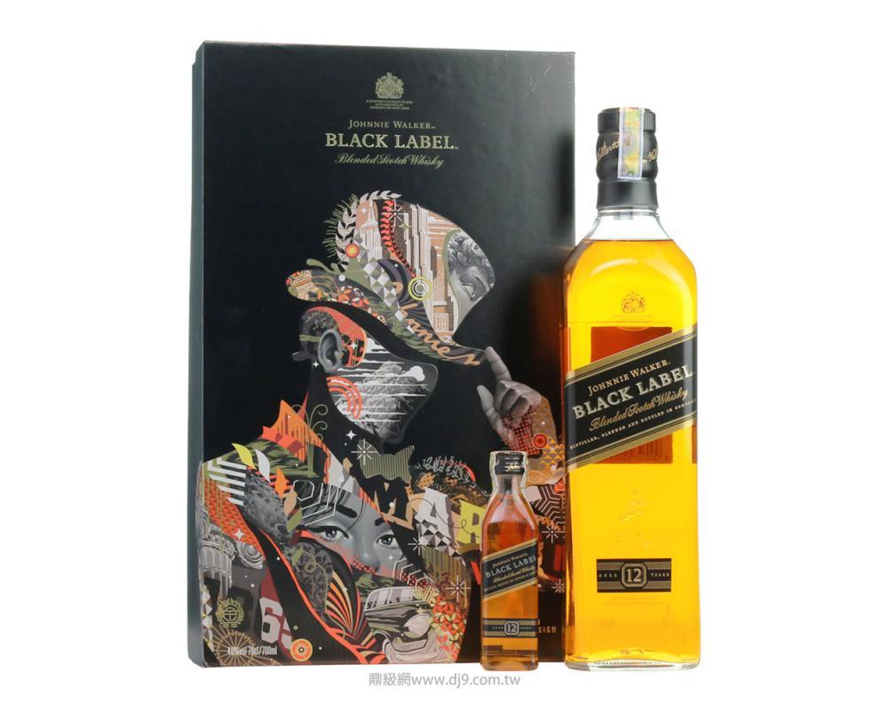 約翰走路黑牌12年威士忌禮盒(2018春節限定)