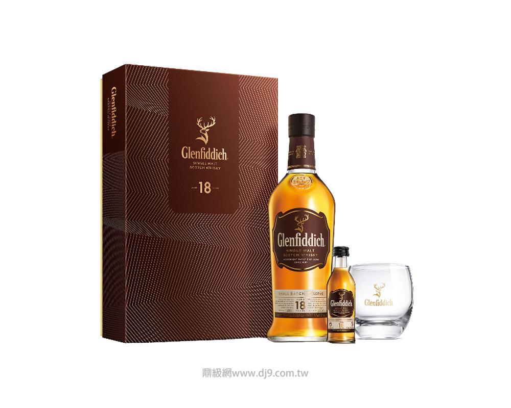 格蘭菲迪18年單一純麥威士忌禮盒