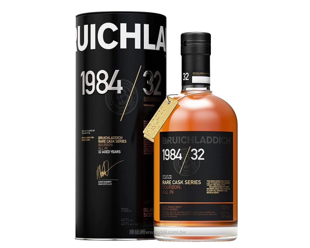 布萊迪32年單一純麥威士忌1984