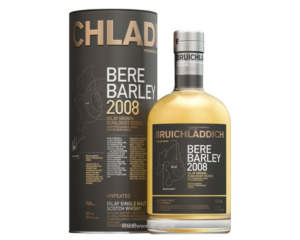 布萊迪 畢爾古代大麥單一純麥威士忌2008