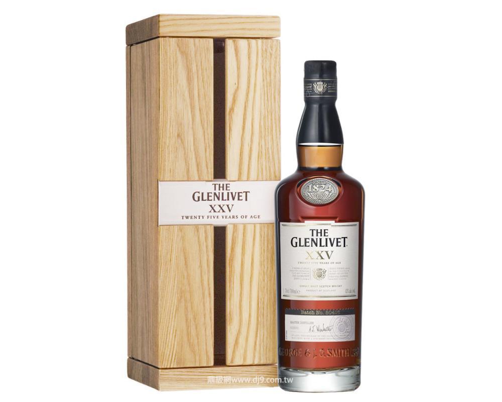 格蘭利威25年單一麥芽威士忌