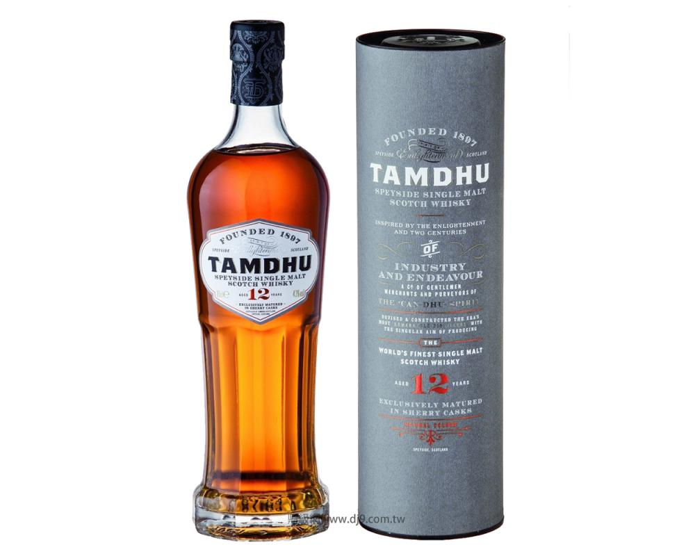 坦杜12年雪莉桶單一純麥威士忌