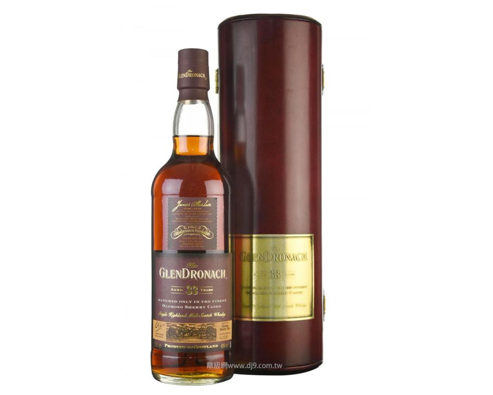 格蘭多納33年單一麥芽威士忌(舊版)