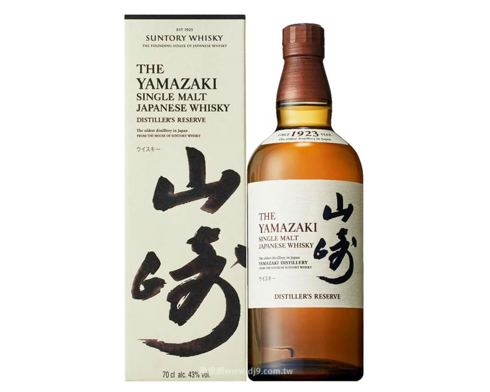 山崎單一麥威士忌(新裝)