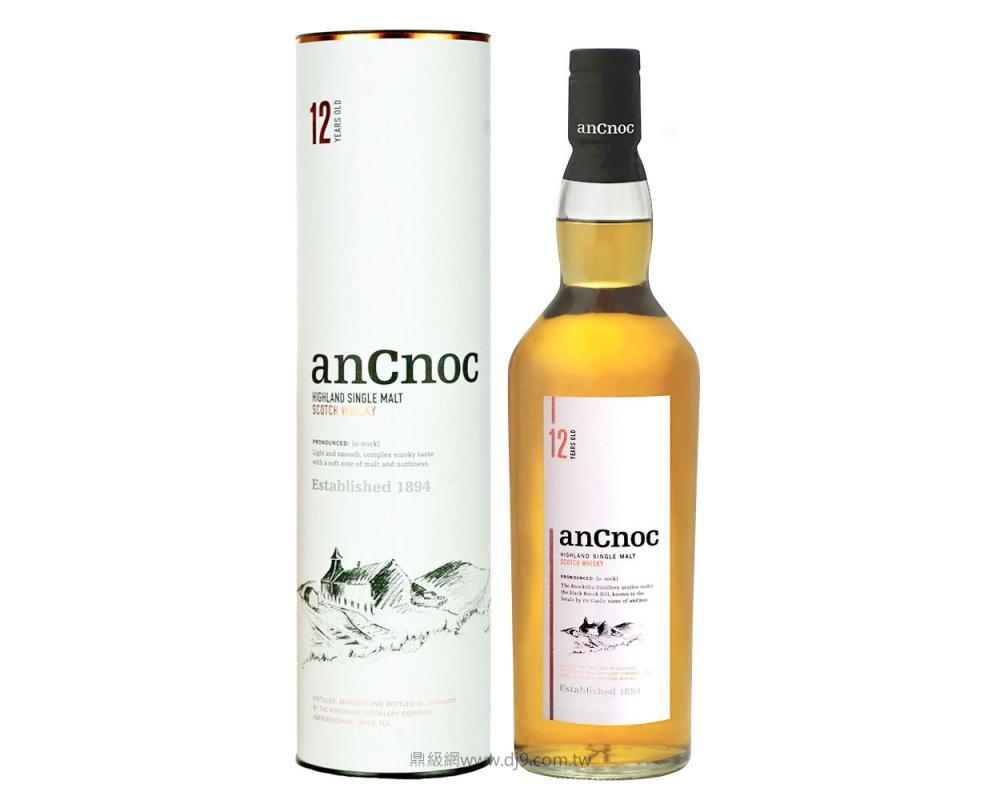 安努克12年單一麥芽威士忌