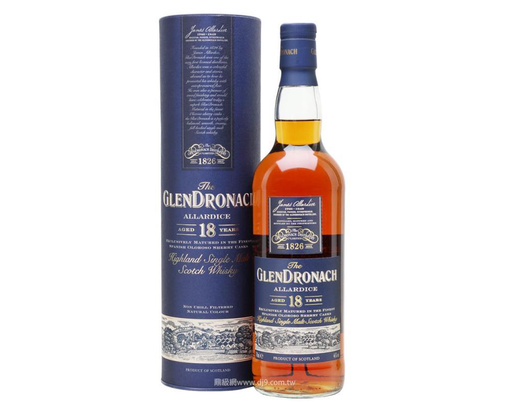 格蘭多納18年單一麥芽威士忌