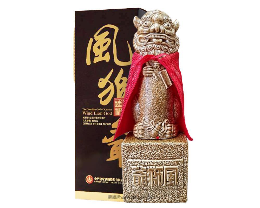 金門高粱酒-文昌進祿風獅爺