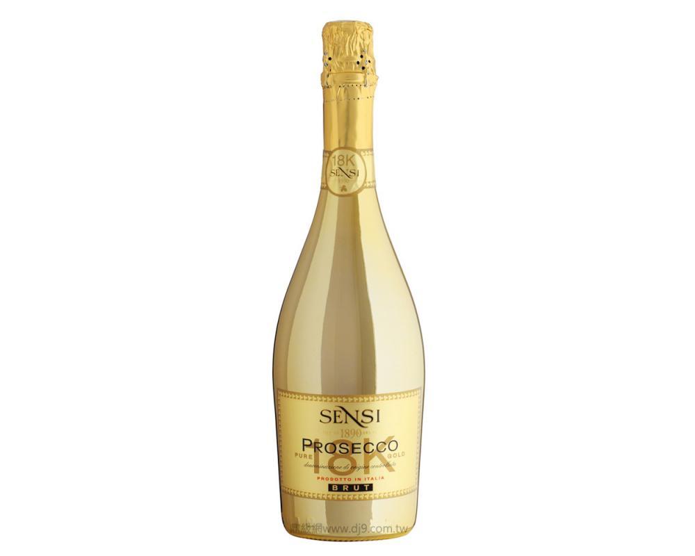 18K金波賽克氣泡酒