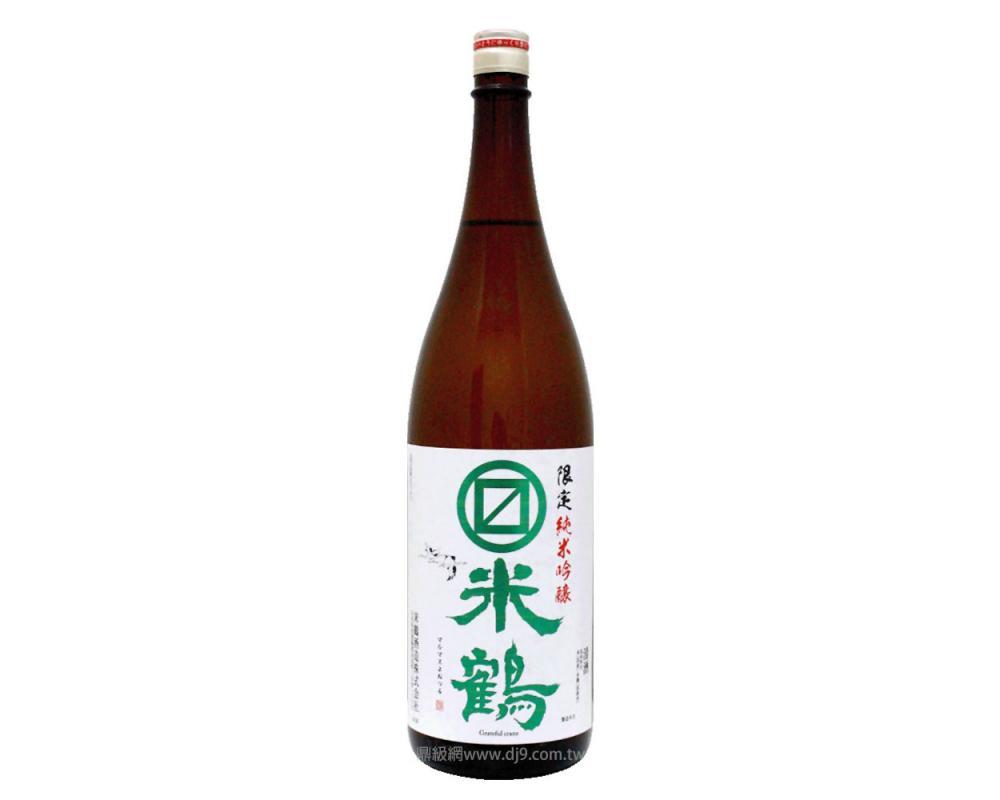 丸枡米鶴 限定純米吟釀1.8L