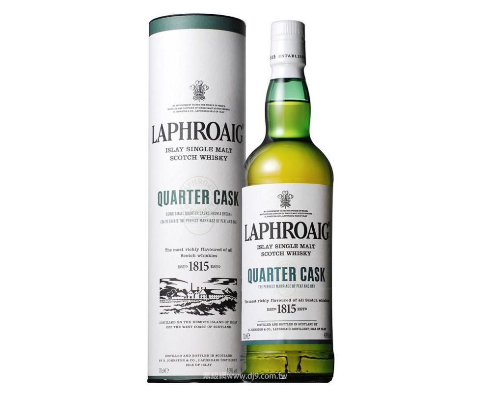 蘇格蘭 拉弗格 四分之一桶 單⼀純麥威⼠忌.700 ml