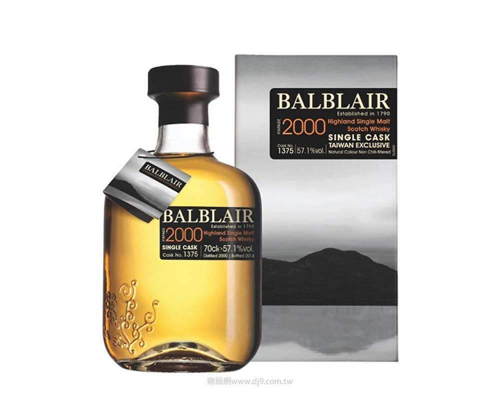 巴布萊爾2000單桶單一麥芽威士忌