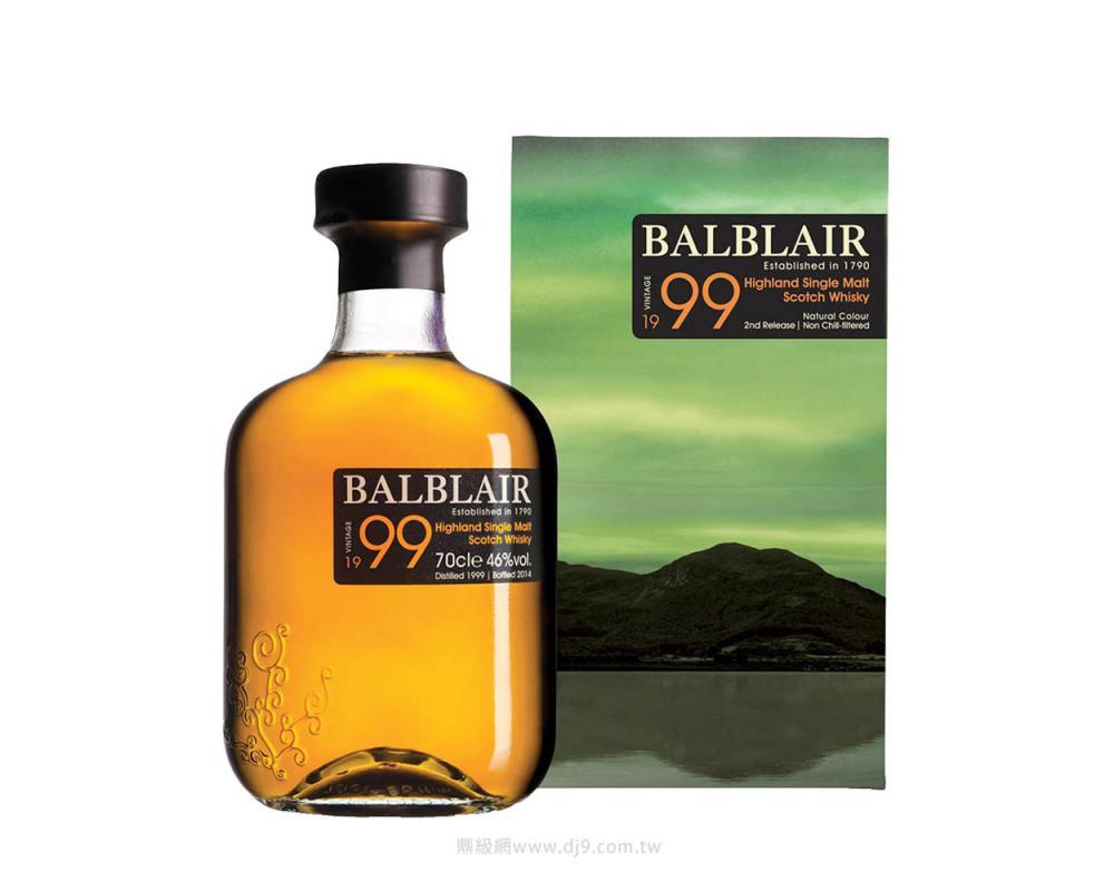 巴布萊爾1999單一麥芽威士忌(第二版)