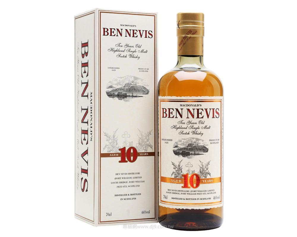 班尼富10年高地單一純麥威士忌