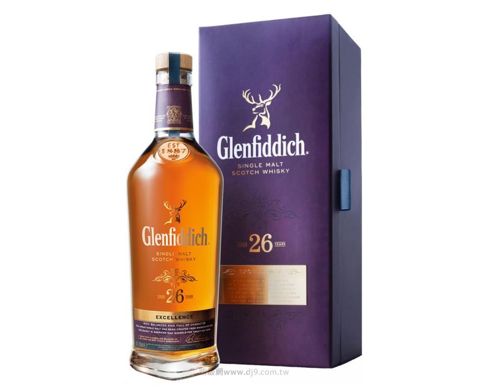 格蘭菲迪26年單一麥芽威士忌