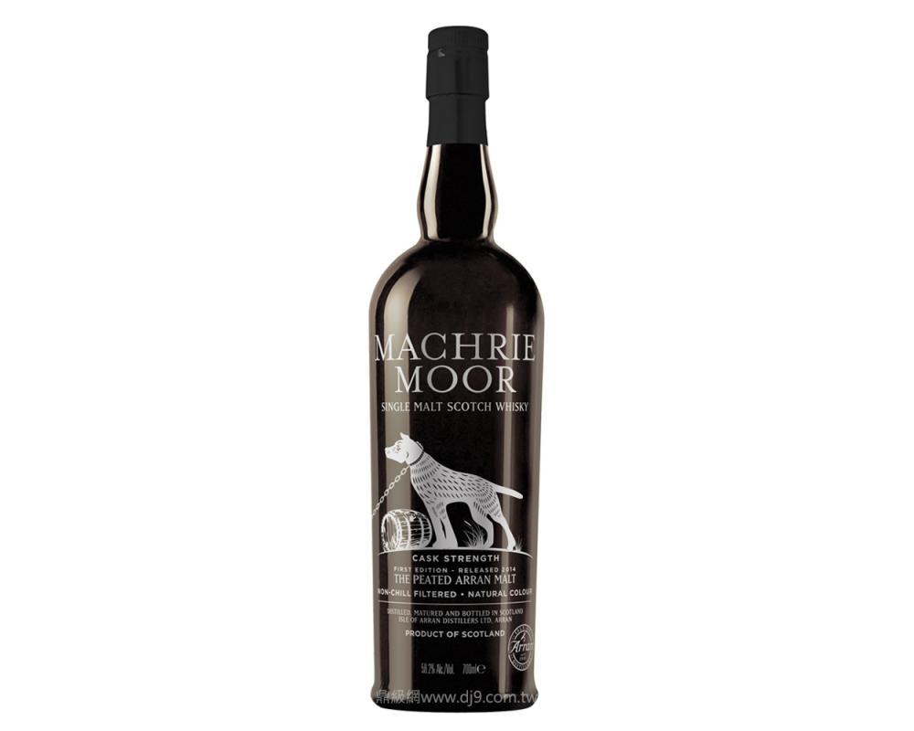 愛倫限量Machrie Moor原酒桶裝單一麥芽威士忌