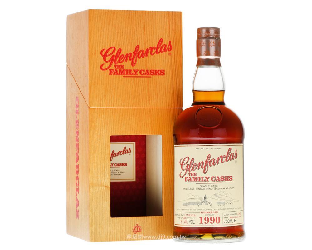格蘭花格1990家族桶單一麥芽威士忌原酒