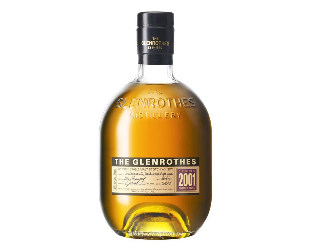 格蘭路思2001單一麥芽威士忌