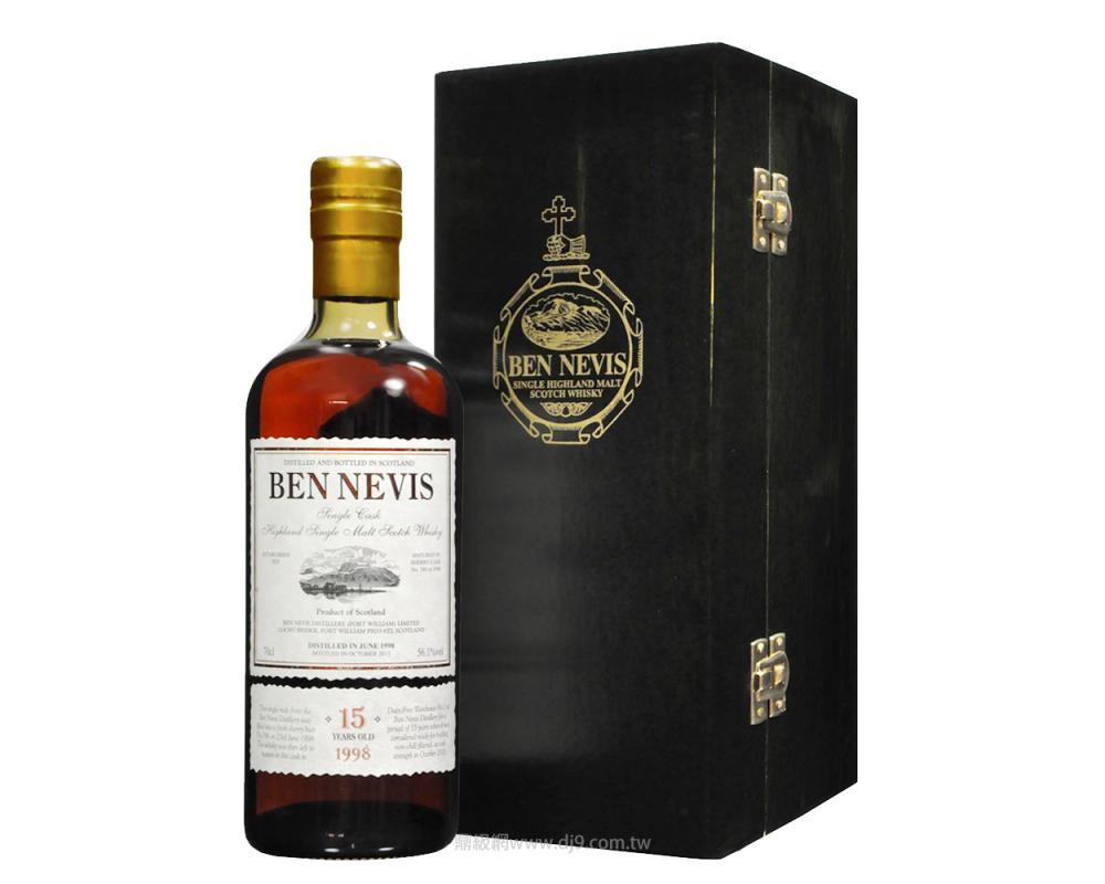 班尼富15年單一純麥威士忌
