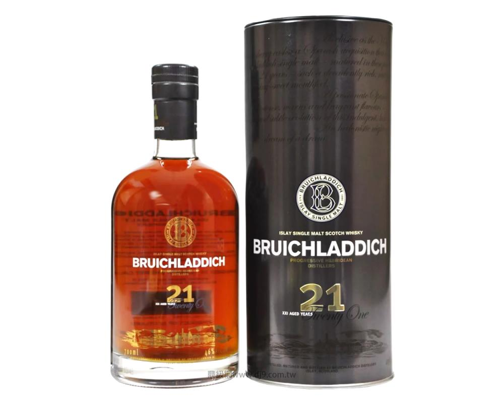布萊迪21年單一麥芽威士忌