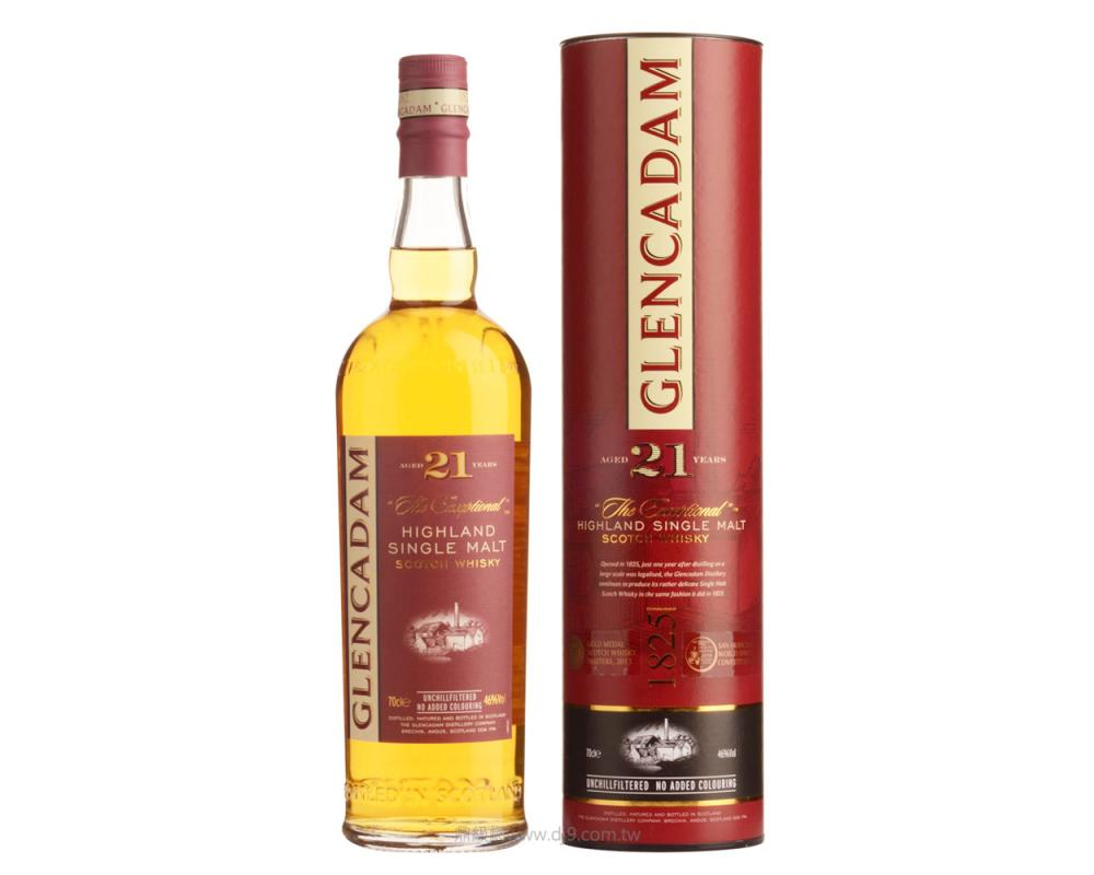 格蘭卡登21年單一麥芽威士忌