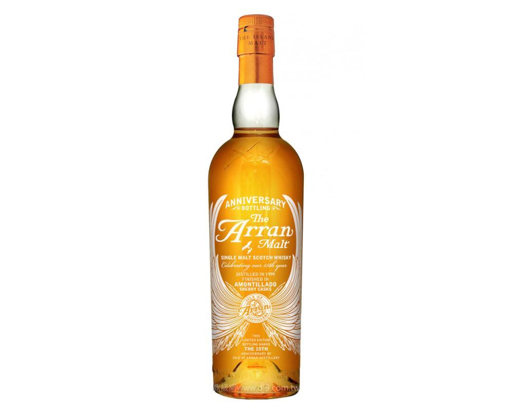 愛倫15年單一麥芽威士忌-週年限定版