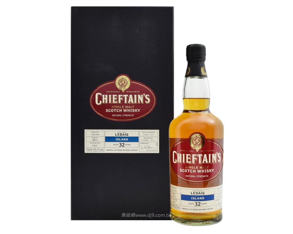 老酋長Ledaig 32年單一麥芽威士忌