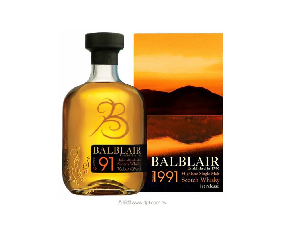 巴布萊爾1991單一麥芽威士忌(第二版)