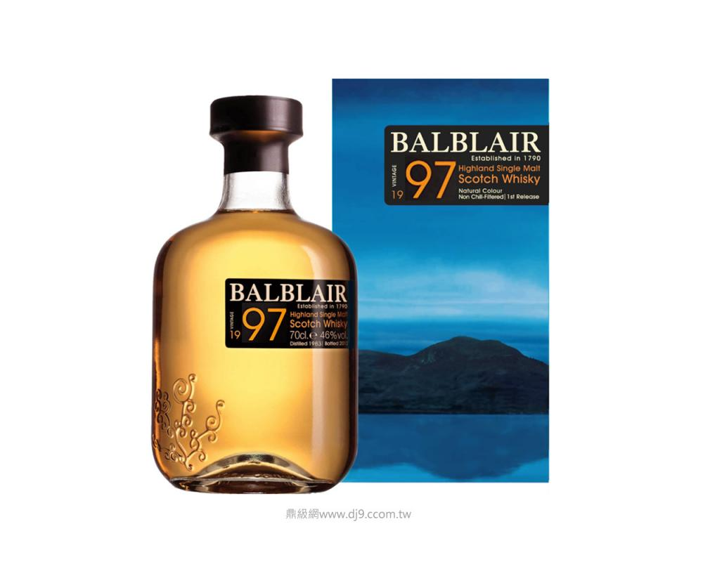 巴布萊爾1997單一麥芽威士忌(第二版)