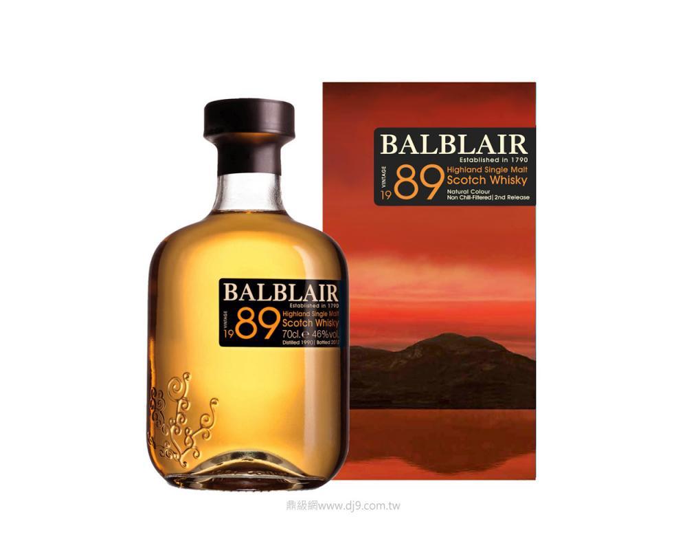 巴布萊爾1989單一麥芽威士忌(第三版)