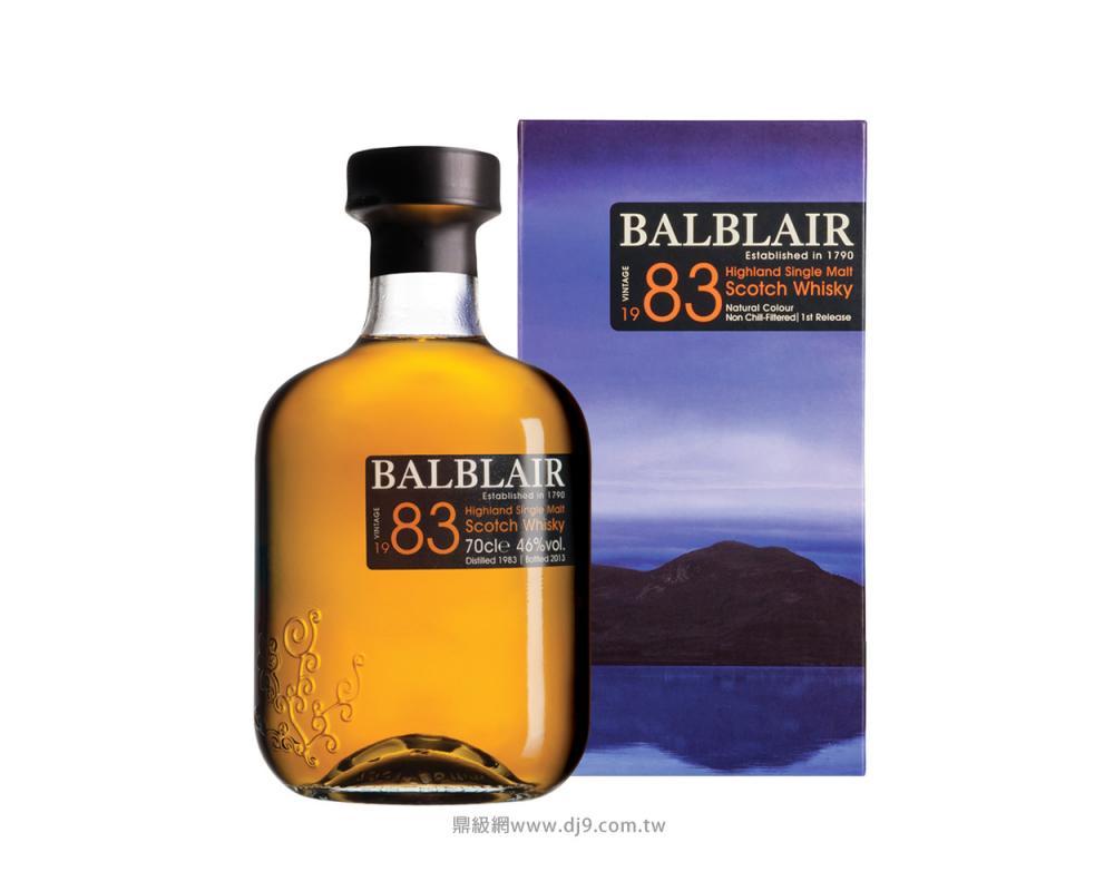 巴布萊爾1983單一麥芽威士忌