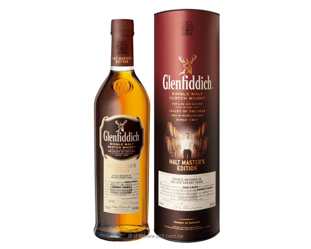 格蘭菲迪大師版雪莉桶單一麥芽威士忌-限量版