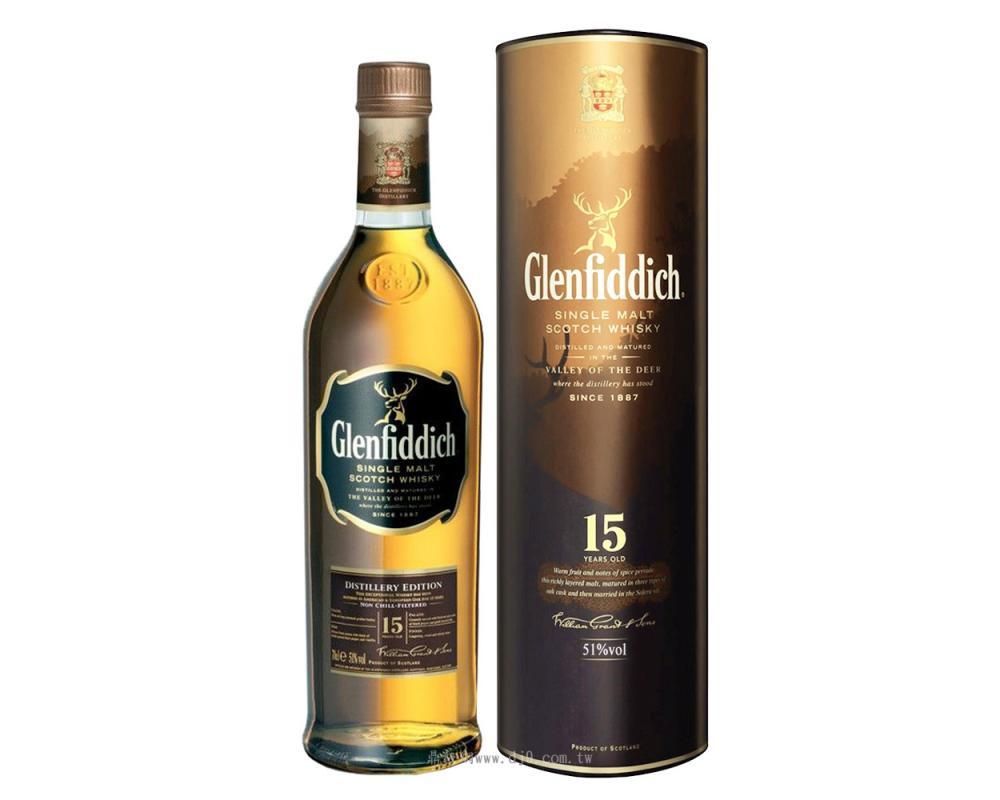 格蘭菲迪15年單一麥芽威士忌-2008台灣限定版
