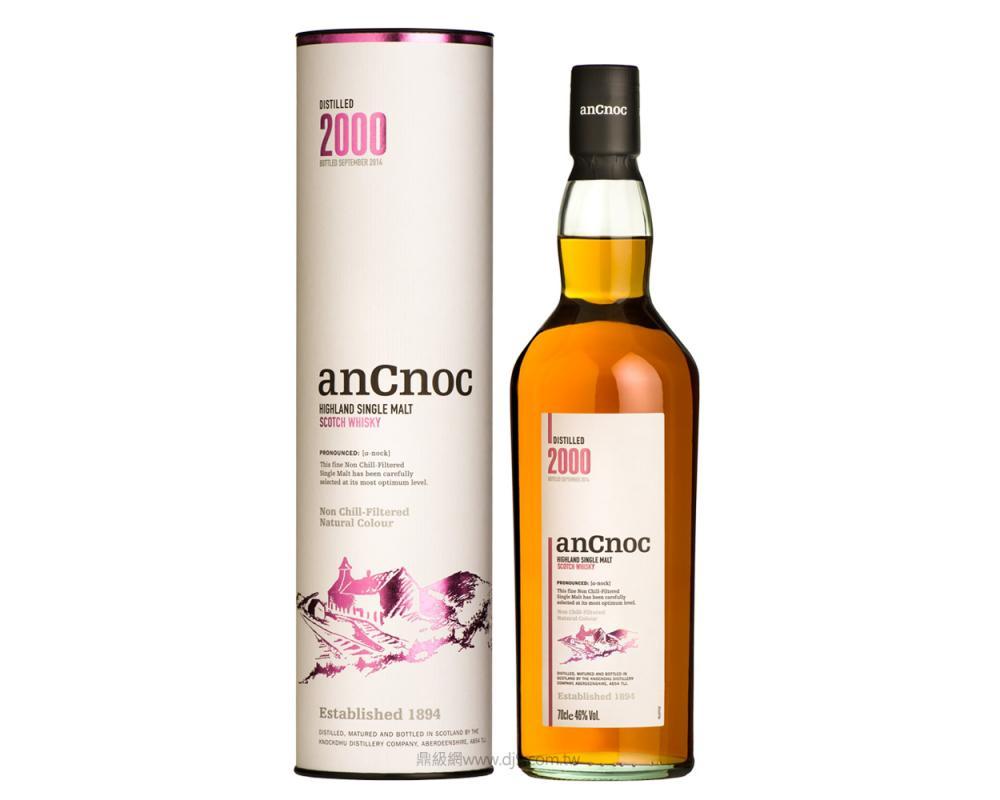 安努克2000年單一麥芽威士忌