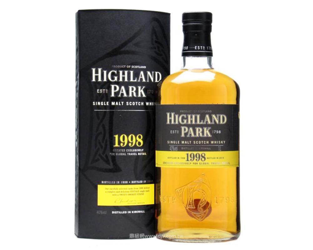 高原騎士1998單一麥芽威士忌