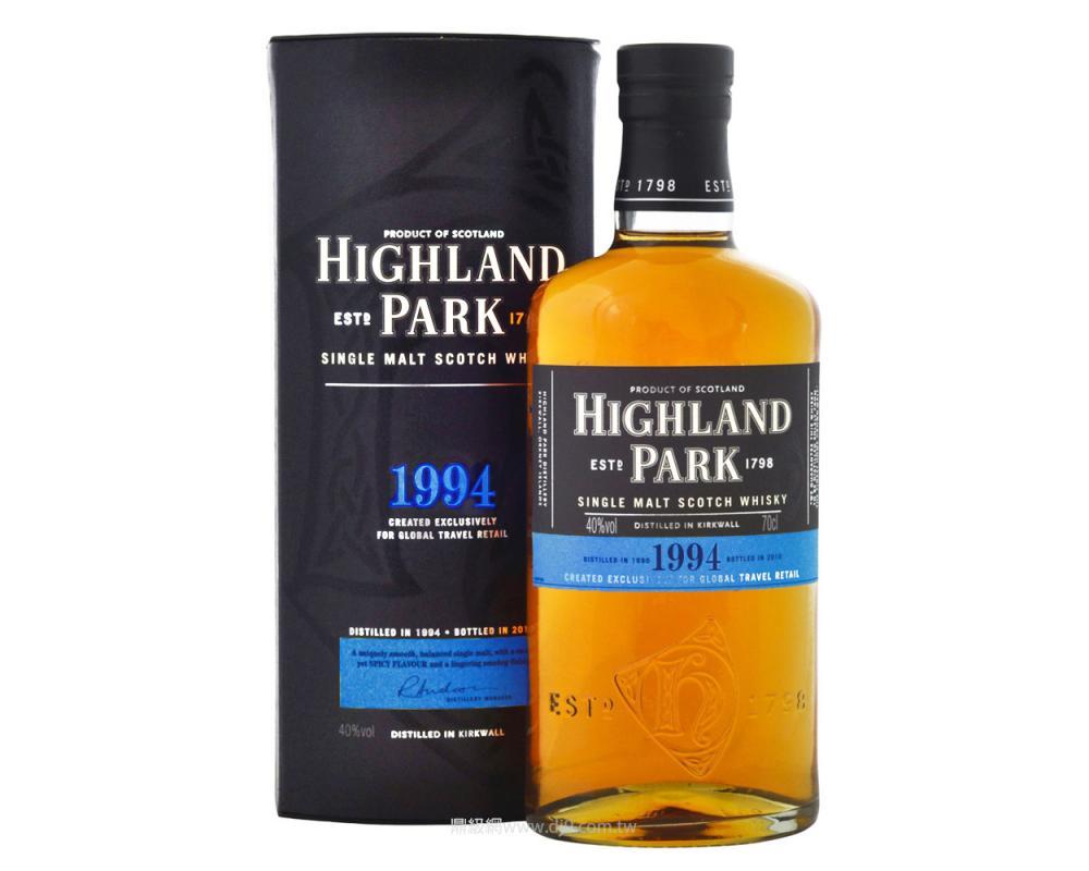 高原騎士1994單一麥芽威士忌