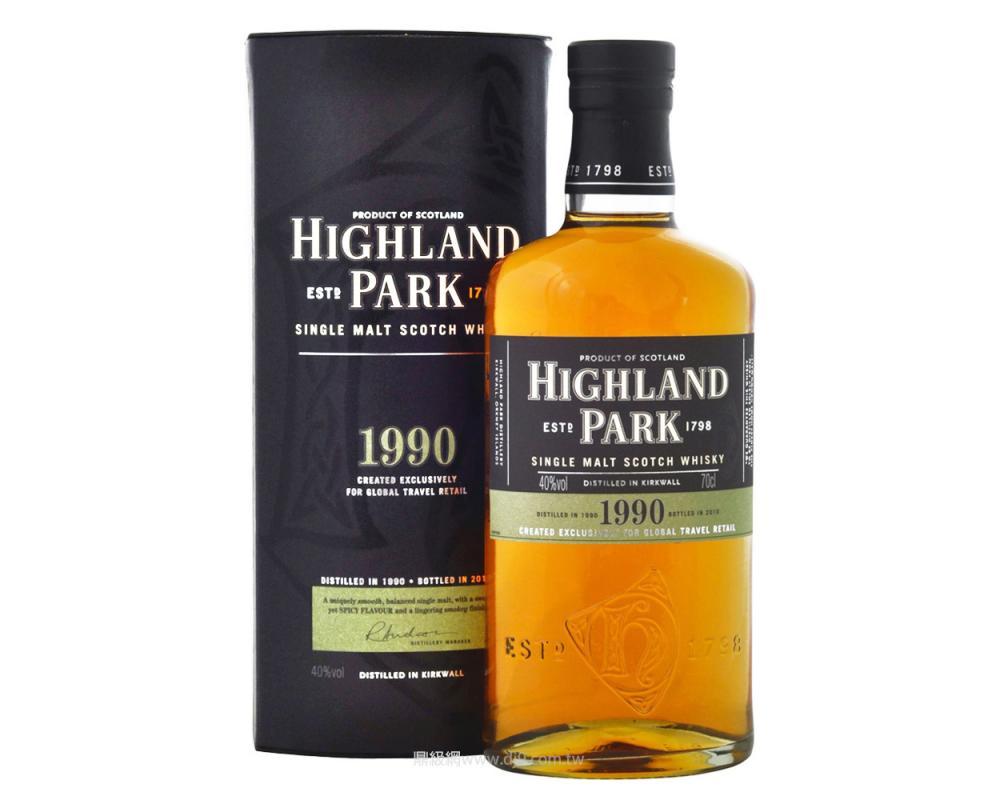 高原騎士1990單一麥芽威士忌